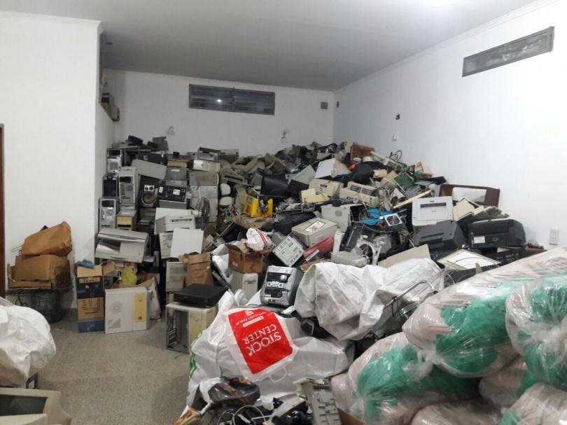 """Cuarto envío de residuos electrónicos de la Municipalidad de Paraná a la Asociación Civil """"Basura Cero"""""""